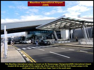 SSR International Airport, Mauritius