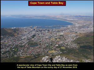 A breathtaking sight of Cape Town City