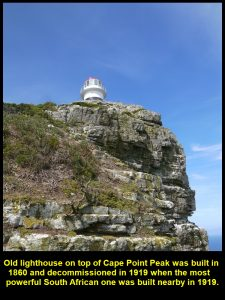 Old lighthouse was decommissioned in 1919 and is now used for observation and communication.