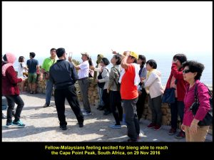 Fellow-Malaysians at old lighthouse on 29 Nov 2016