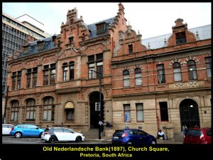 Old Nederlandsche Bank was built in 1897.