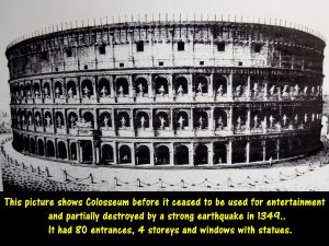 Colosseum in the Olden Days