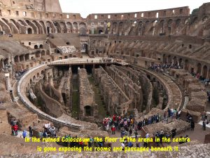 Ruined Interior Colosseum