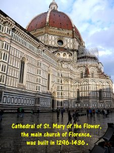 Cathedral of St. Mary of the Flower, the main Florence church