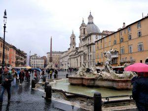 Pantheon Square or Piazza della Rotunda, Rome