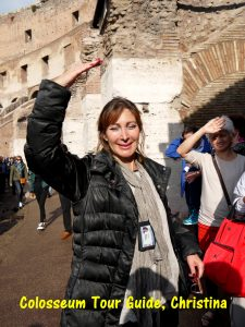 Rome tour-guide, Christina