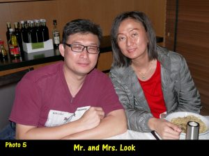 Mr. and Mrs. Look