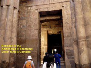 Entrance to the Amenhotep III Sanctuary