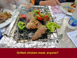Grilled chicken meat at Alezba Village Restaurant, Cairo, anyone?