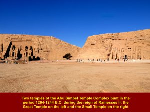 Two Abu Simbel Temples: Great Temple and Small Temple