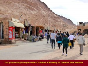 After the Mt. Sinai climb, we were brought by our coach to a place near the St. Catherine's Monastery that is 10 km from Morgenland Hotel