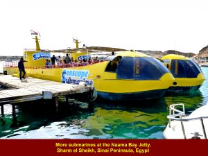 More tourist submarines at the jetty