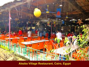 Eating place at Alezba Village Restaurant, Cairo