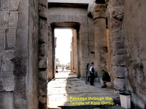 Passage through Kom Ombo Temple