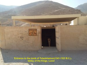 Tutankhamun Tomb in the Valley of the Kings