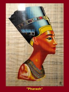 Painting of a pharaoh