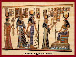 "Painting of ""Ancient Egyptian Deities"""