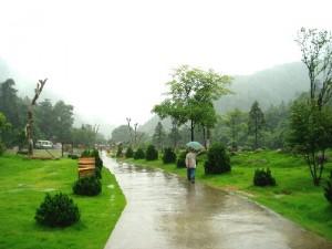 A rainy day in Gu Po Mountain