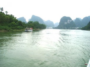 A breathtaking Li River scenery