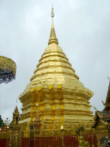 Golden Stupa of Wat Phratat Doi Suthep