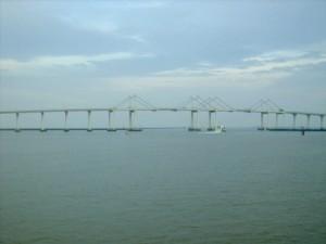"""Friendship Bridge"" linking the Macau Penisula to Taipa Island"