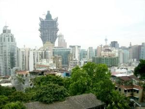 Macau Skyline (Macau Sky Tower is in the distance)