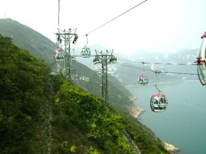 A cable-car ride: Breathtaking views