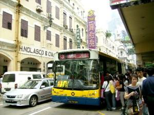 Avenida Almeida Ribeiro- Macau's busiest road