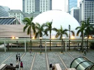 Hong Kong Space Museum at Tsim Sha Tsui