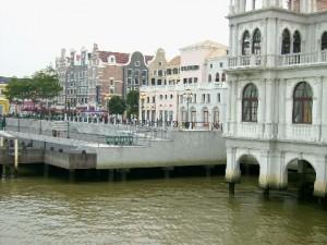 Some buildings of Macau Fisherman's Wharf