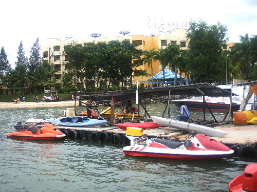 Sea-sports, Waterfront City