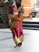A pretty Balinese dancer
