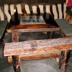 Driftwood Table and Benches