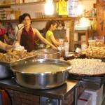 A popular noodle shop