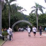 Entrance to former President Chinag Kai-shek's Shilin Residence Garden
