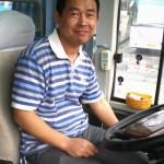 Mr. Su, the tour bus driver