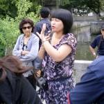 Madam Chien, writer's Suzhou tour guide