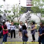 A small garden in a Suzhou Classical Garden(Residence)