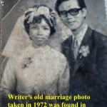 Writer's marriage photo found in Uncle Boon Piau's house