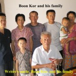 Uncle's Boon Kor's family