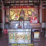 Inside a Mazu Temple