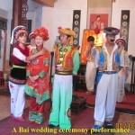 A Bai wedding ceremony show