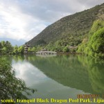 A tranquil Black Dragon Pool Park, Lijiang