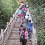 A long climb to Dragon Gate