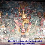 Three Divine Statues