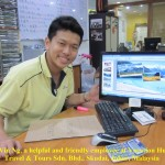 Vin Ng of Vacation Hub Travel & Tours Sdn. Bhd.