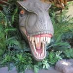T-Rex, a ferocious dinosaur at Jurassic Park