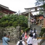 Steps leading to Jishu Temple