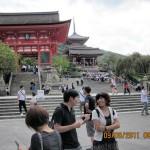 Steps leading to Kiyomizu Temple