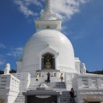 White Buddhist Shrine